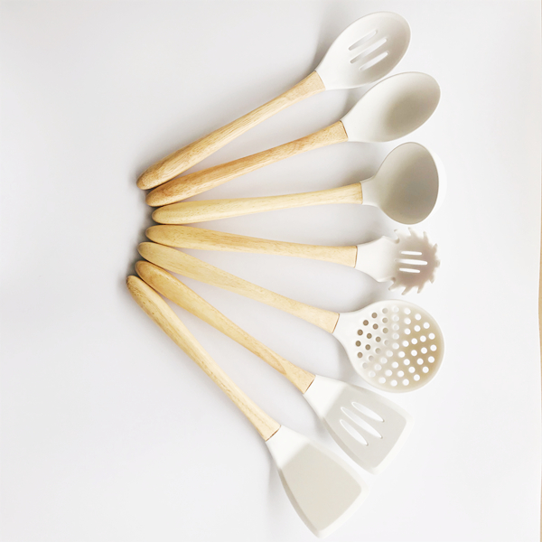 7 Pieces Silicone Cooking Utensils
