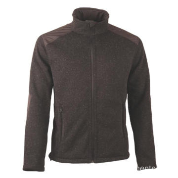JERSEY HEATHER fleece Jacket