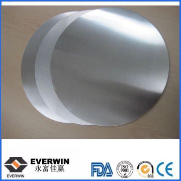 1050 Aluminum Disc Circular Wafer Circle