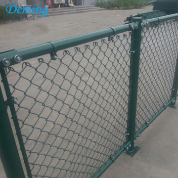 PVC Coated 60MM Chain Link Playground Fence