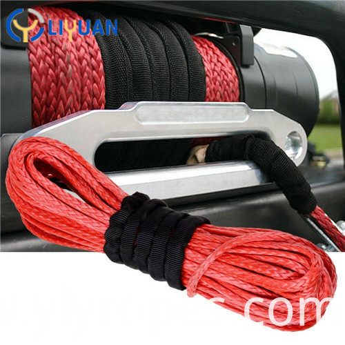 Tow Winch Strap Rope