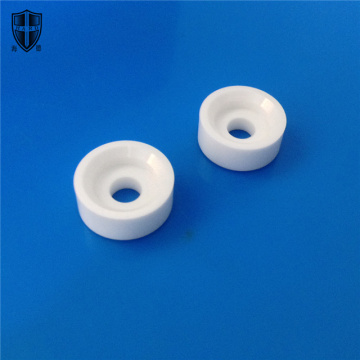 custom made alumina zirconia ceramic tube shaft eyelet