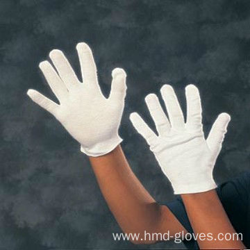 White Cotton Teller Usher Market Gloves
