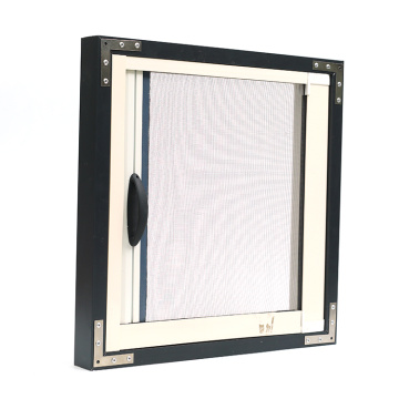 Retractable window with aluminum frame 0991