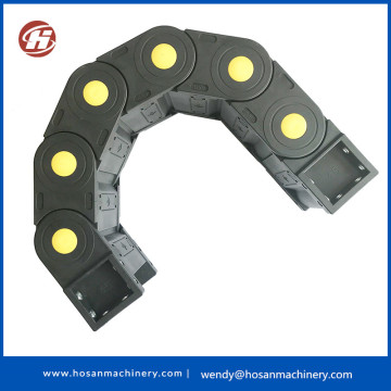 Plastic Cable Drag Chain Good Protective Enclosed