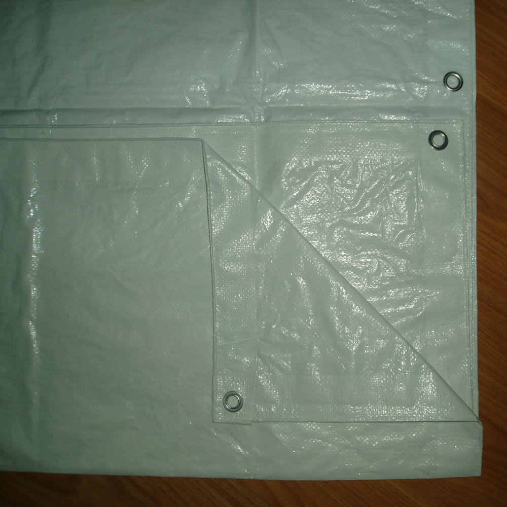 Big Size White Tarpaulin Sheet for Athletic Field Cover