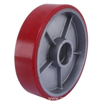 180mm Iron Core Pu Tread Forklift wheel