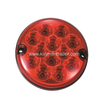 LED Round Fog Light For Trailer Tail