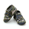 Baby Shoes Camouflage Moccasin Shoes
