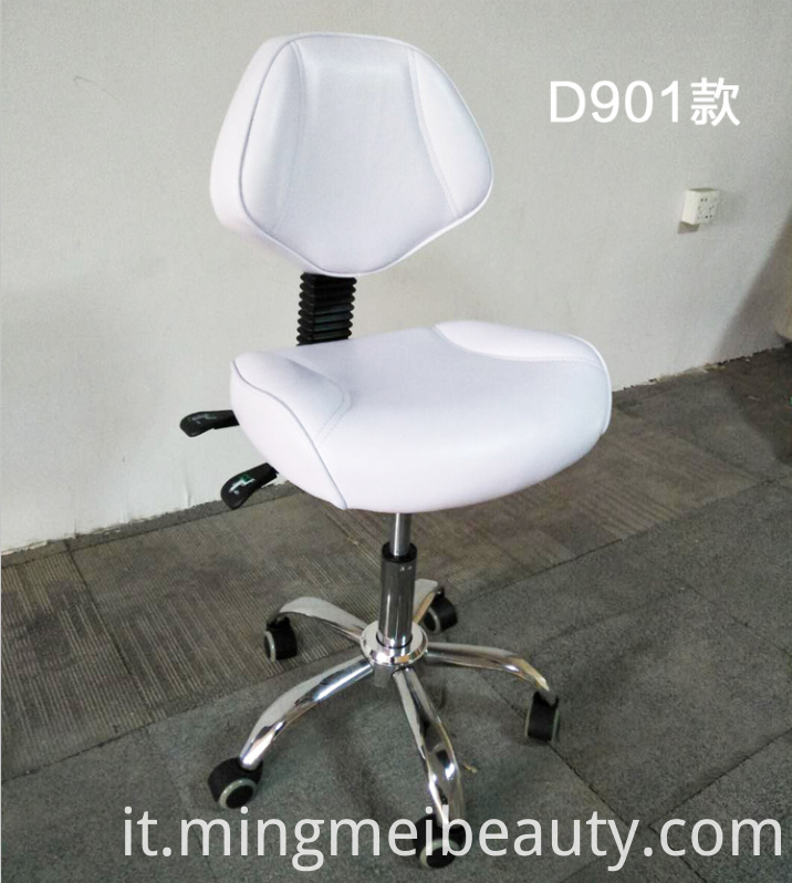 White Master Chair