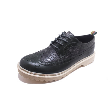 Hot Sale Leather Anti-slip Rubber Outsole Shoes