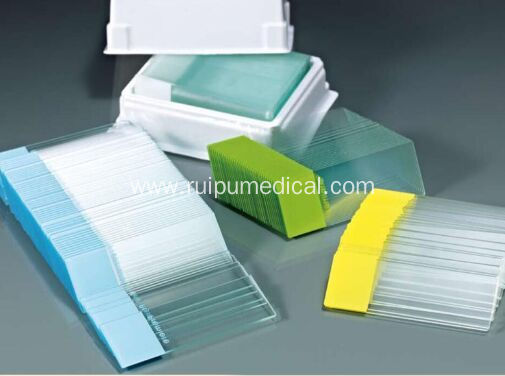 Microscope Slides with Unground Edges
