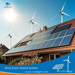 DELIGHT Medium Wind Generator Solar System