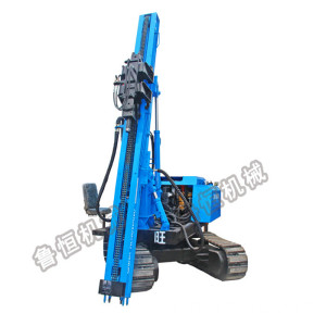High precision construction use press pile driver