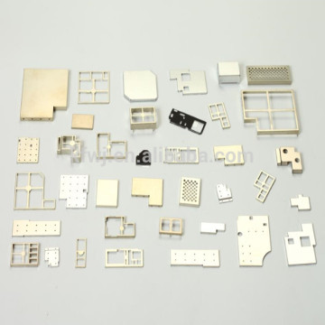 EMI RFI shielding metal parts