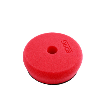 3'' red polisher sanding pad for drill