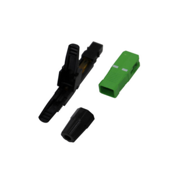 SC APC Optical Fiber Optic Quick Fast Connector