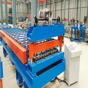 Galvanized metal Trapezoid Roof Sheet forming Machine