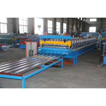 Roofing Sheet Roll Forming Machine with Trapezoid Tile