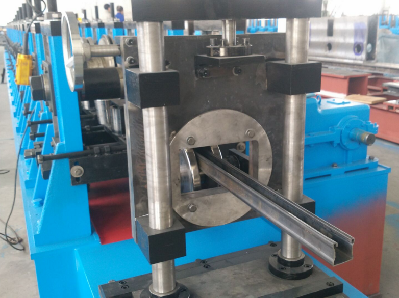 Euro Style slotted c channel machine