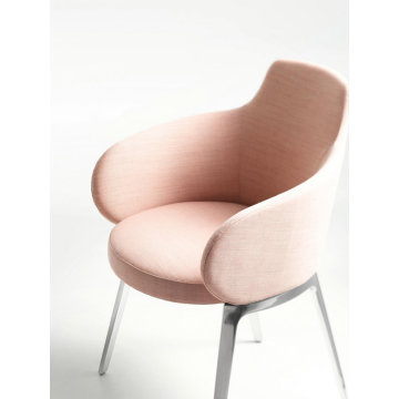 ROC Dining Chair hotel fabric arm chair