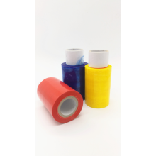 Factory Price for Colored Stretch Film Color  hand roll stretch wrap  film export to Nepal Importers