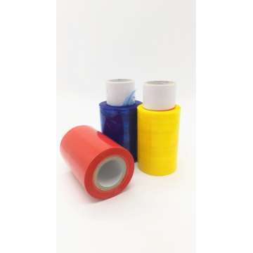 Color  hand roll stretch wrap  film