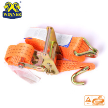 Heavy Duty Polyester Tie Down Ratchet Lashing Cargo Strap