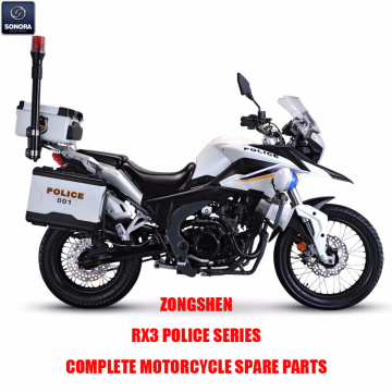 Zongshen RX3 Police Series Complete Engine Body Kit Spare Parts Original Spare Parts