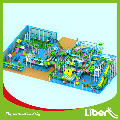 Indoor large playet equipment for shopping mall