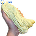 High strength braided kevlar rope