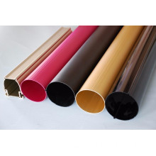 Powder coated extruded thin wall aluminum tube suppliers