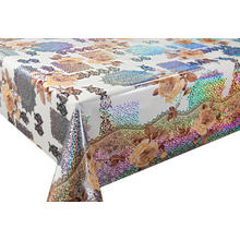 3D Laser Coating Tablecloth Cover