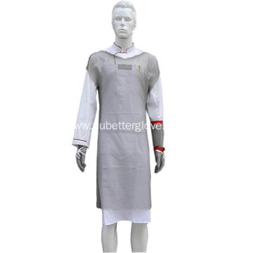 100% Stainless Steel Tunic Aprons