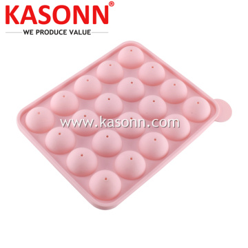 Slicone Lollipop Ball Sweet Mould