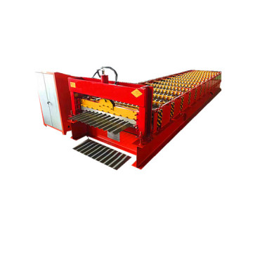 Factory price galvanized corrugated roof making machine