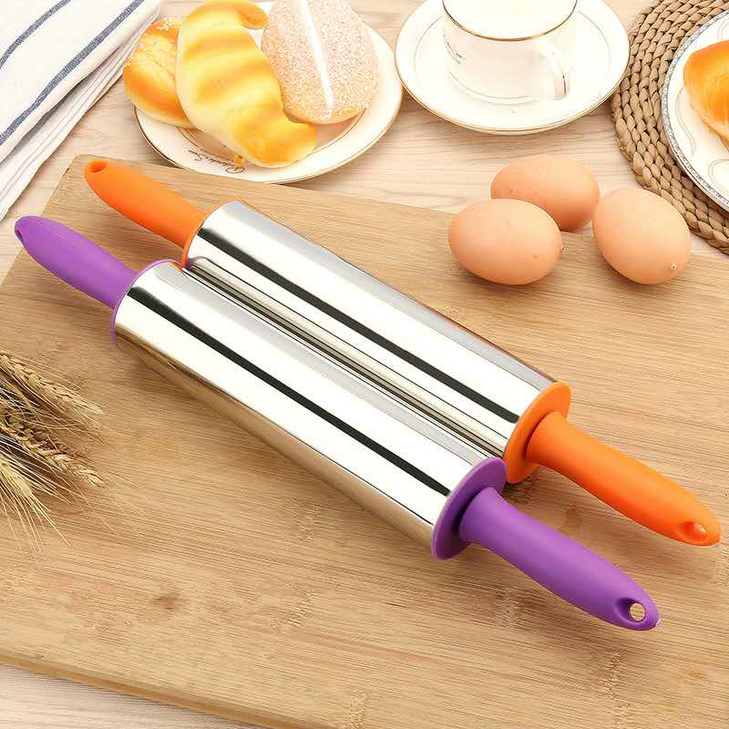 18/10 Contracted Stainless Steel Rolling Pin