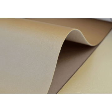 Flat cloth pattern smooth decorative leather