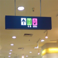 Customized Hanging Supermarket LED Cashier Sign Board