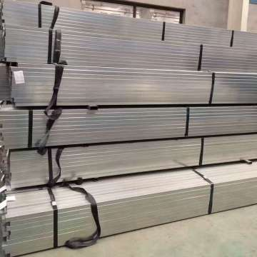 Q 345 Material Galvanized Steel Pipe For Greenhouse