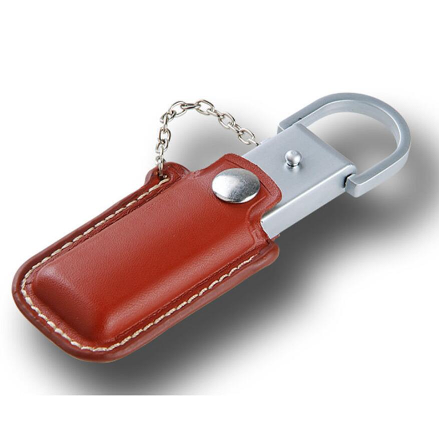 Leather usb flash drive color2