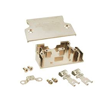 1.27mm Series Shielded Backshell Kits 50P Straight Exit