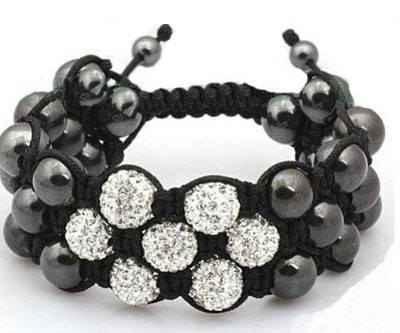Multi Layers Triple Shamballa Bracelet