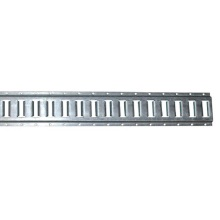 Vertical E-track 10 Feet Long Zinc Coated Steel