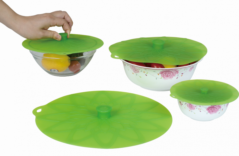 Useful Food Grade Silicone Pop Top Lid Set