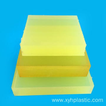Tensile Mechanical Polyester Type PU Sheet