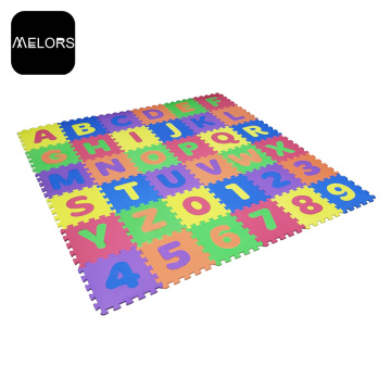 Soft Anti-slip EVA Foam Alphabet Number Puzzle Mat