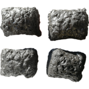 Self-baking Electrode Paste briquettes for SiMn smelting furnaces