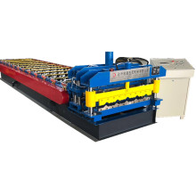 Glazed metal roofing sheet roo forming machine