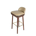 Modern replica Beetley bar stool by leather